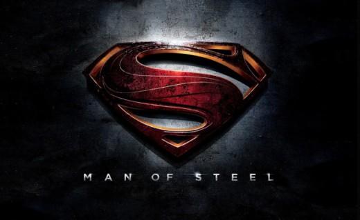 Superman - Man of Steel logo