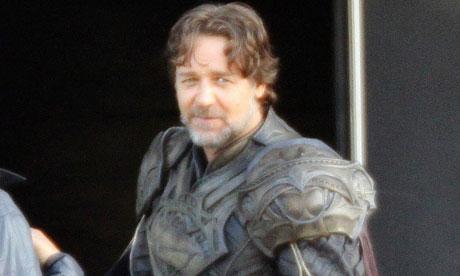Russell Crowe in Superman - Man of Steel as Kal-El's Father