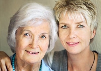This mother and daughter are separated by 25 years, both have great skin - find out what you can do to keep your skin looking younger for longer!