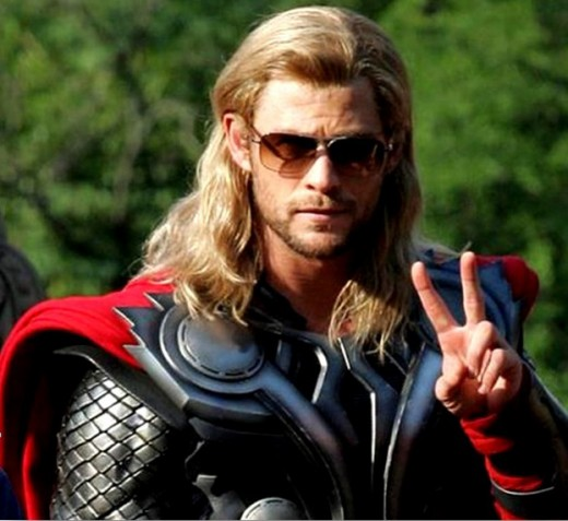 Thor just wants peace in Thor 2