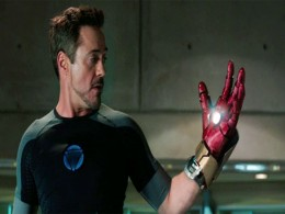 Tony Stark gives a whole new meaning to left handed