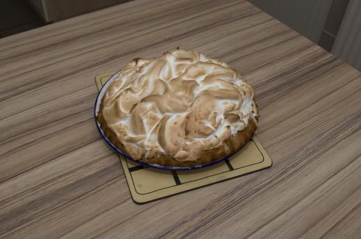 A yummy Baked Alaska