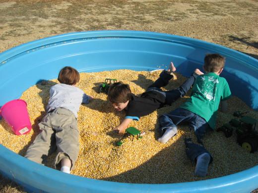 corn tub