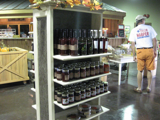 Jams And Jellies, syrups, candies, and sauces