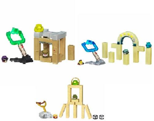 Star Wars Angry Birds Tatooine Sets