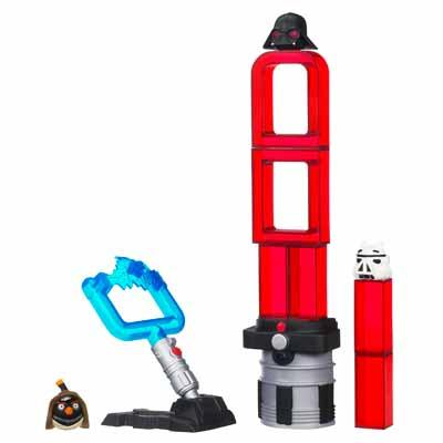 Star Wars Angry Birds Lightsaber Set