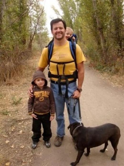 Friendly fellow hikers