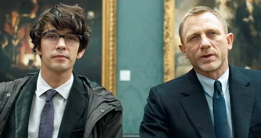 Ben Whishaw and Daniel Craig in Skyfall (2012)