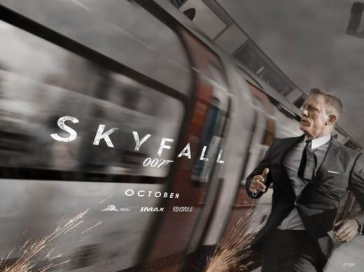 Skyfall (2012) poster