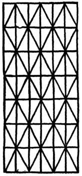 Pattern For Arrowhead Stitch