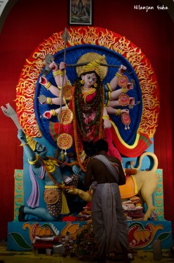 Facts about Durga Puja, Photos of the Idols of the Goddess, Pandals and Visarjan