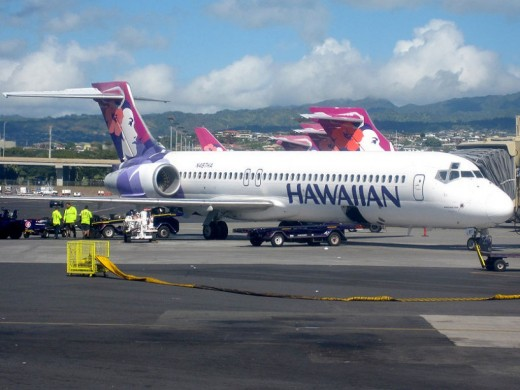 Being a flight attendant is not just a nice pleasant trip aboard Hawaiian Airlines... it is a lot of hard work!