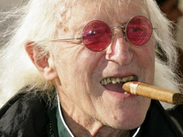 The vile scum Jimmy Saville.