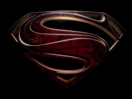 The new Superman - Man of Steel logo