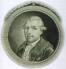 Adam Weishaupt, founder of the Bavarian Illuminati.