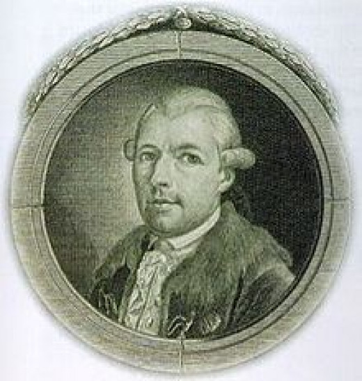 Adam Weishaupt, founder of the Bavarian Illuminati.