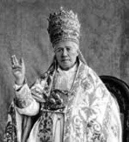 Pope St. Pius X with Tiara