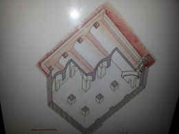 Plan of the water tank