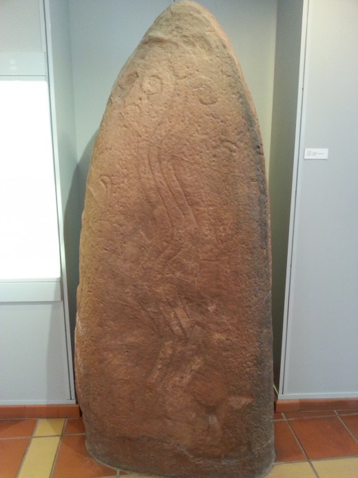 Monoliths filled with inscriptions