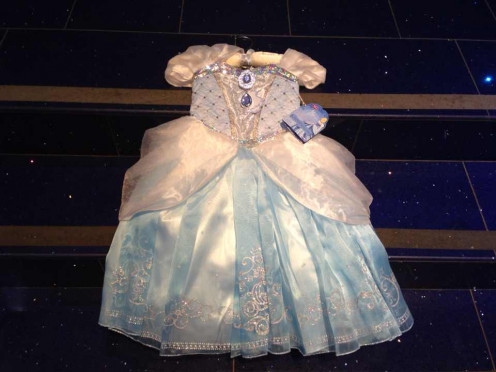 A Cinderella Dress is on the list of gift ideas for three year old girls because kids love using their imagination when dressing up