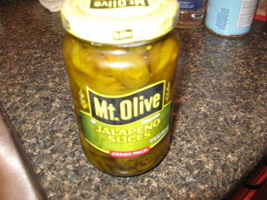 I like to use pickled jalapenos in my jalapeno burgers.