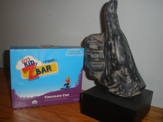 I give the Chocolate Chip Clif Z Bar for kids the thumbs up!