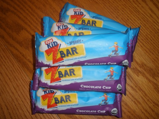 Six bars come in a pack of Clif Z Bars