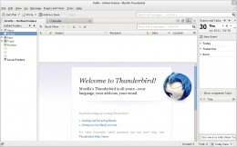 Mozilla Thunderbird - a very popular free mail client that could be used to backup your Gmail to your local hard drive