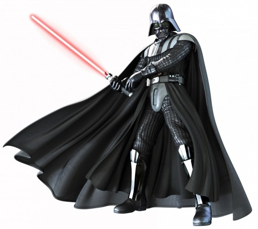 Full Body Darth Vader
