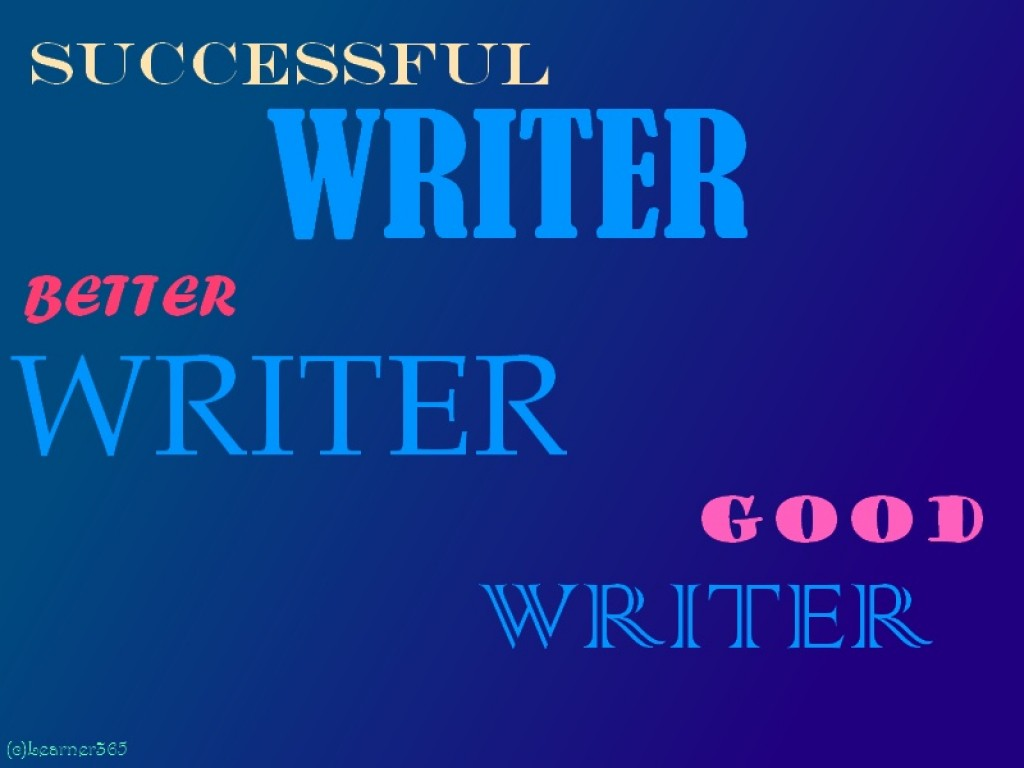 qualities of a good writer essay A good teacher can be defined as someone who always pushes students to want to do their best while at the same time trying to make learning interesting as.