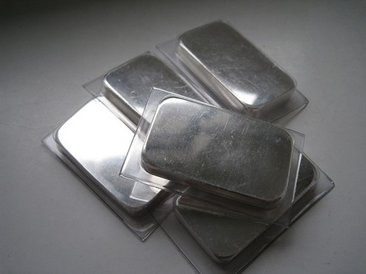 Beautiful silver bars!