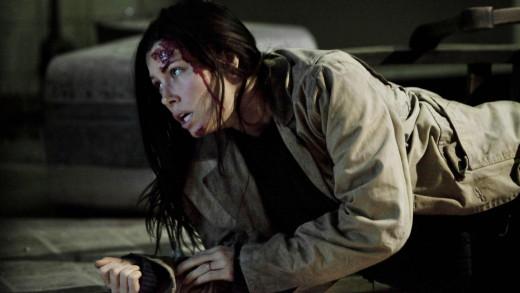 Screen shot of Julia (Jessica Biel) in The Tall Man