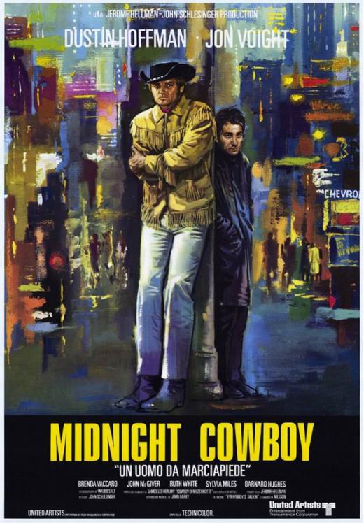 Midnight Cowboy (1969) Italian poster