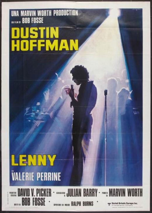 Lenny (1974) Italian poster