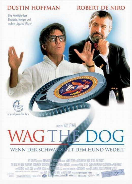Wag the Dog (1997) German poster