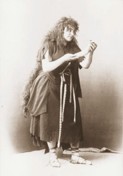Kundry from the opera Parsifal