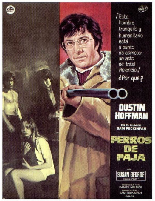 Straw Dogs (1971) Spanish poster