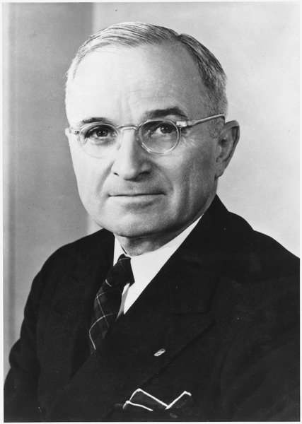 Harry S. Truman, the buck stopped with him.