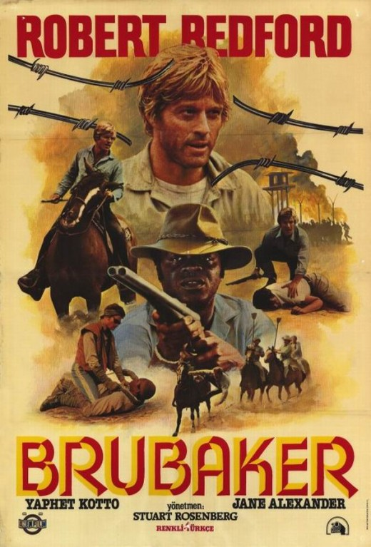 Brubaker (1980) Turkish poster