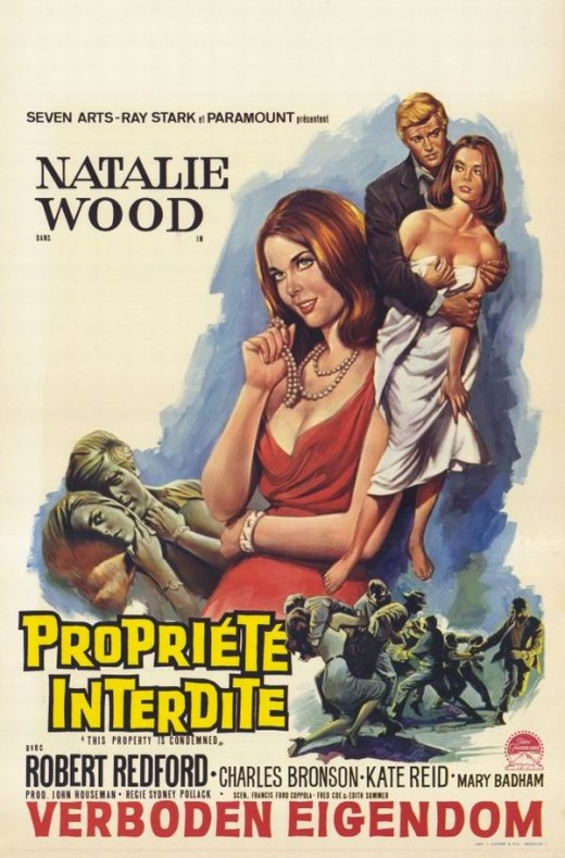 This Property is Condemned (1966) Belgian poster