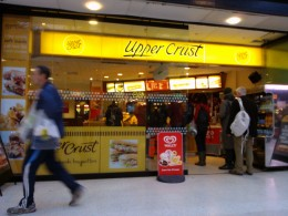 The Upper Crust Lime St Station