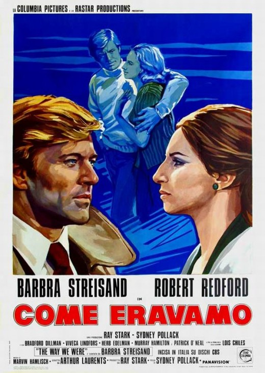 The Way We Were (1973) Italian poster