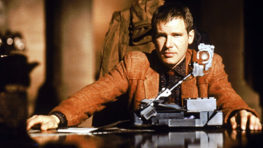 Harrison Ford as Deckard