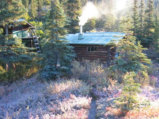 Frosted Cabin from defoliatebush Source: flickr.com