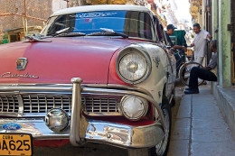 Cuba has been caught in a 1950s technological time warp since embargoes began on almost all trade exports and imports to Cuba.
