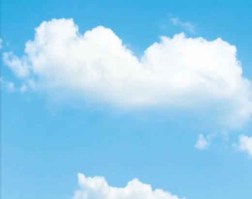 An embarrassed cloud at CAU