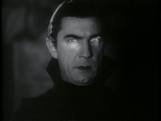 This is a Public Domain photo of Bela Lugosi as Dracula in the 1931 film.