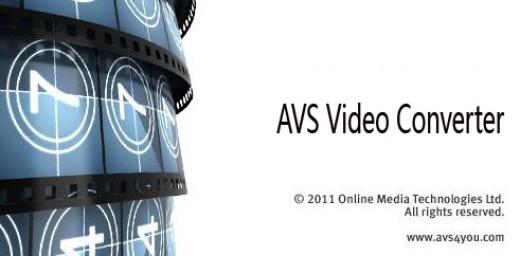 Screenshot of AVS Video Converter