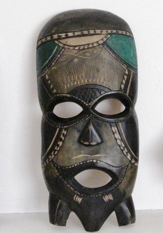 The Smiling mask