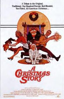 """A Christmas Story"" poster"
